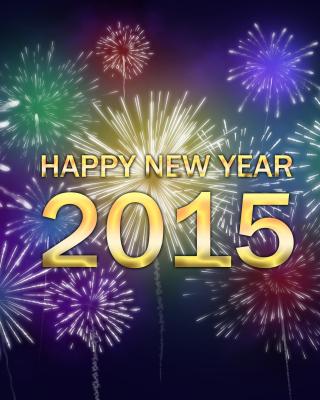 New Year Fireworks 2015 per Nokia N8