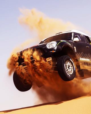 Mini Cooper Countryman Dakar Rally for Nokia Asha 303