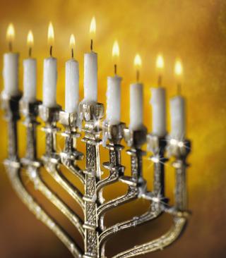 Lighting of Menorah in Jerusalem for Nokia N8