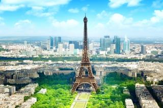 Eiffel Tower para Widescreen Desktop PC 1920x1080 Full HD
