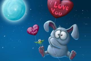 Valentine Bunny para Nokia Asha 201