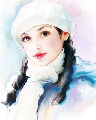 Water-Colour Portrait for 480x854
