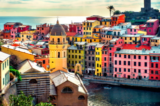 Colorful Italy City