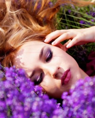 Lavender Portrait for 480x854