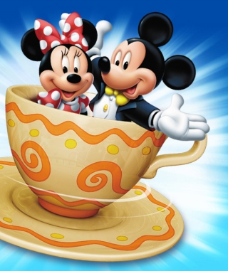 Mickey And Minnie Mouse In Cup para Nokia C1-01