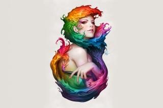 Color Splash Graphic Portrait