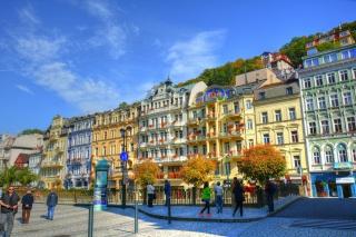 Karlovy Vary - Carlsbad para Widescreen Desktop PC 1920x1080 Full HD