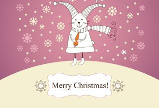 Merry Christmas Rabbit