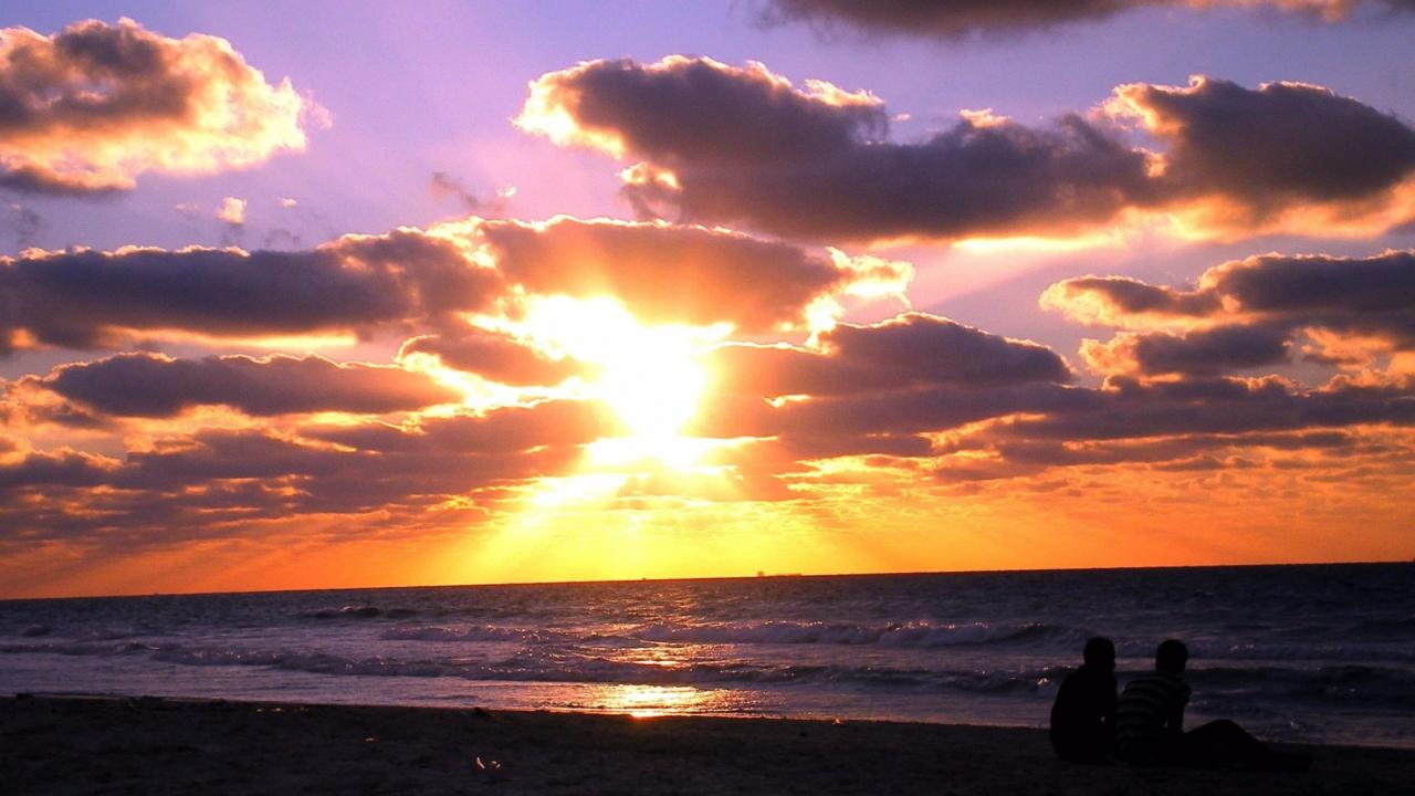 Sunset On The Beach screenshot #1