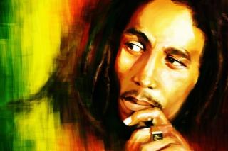 Bob Marley Painting para Nokia X2-01