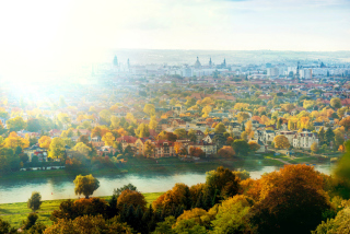 Dresden In Sun Lights