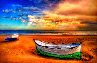Seascape And Boat para Nokia X2-01