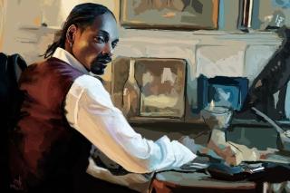 Snoop Dog Portrait Painting