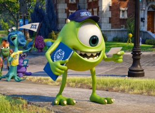 Monsters University para Nokia Asha 201