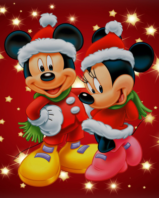 Mickey And Mini Mouse Christmas Time para Huawei G7300