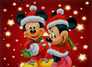 Mickey And Mini Mouse Christmas Time para LG E400 Optimus L3