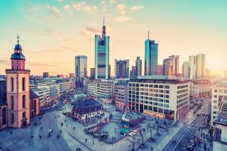 Frankfurt am Main para Widescreen Desktop PC 1920x1080 Full HD