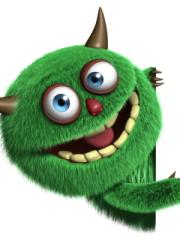 Fluffy Green Monster para Huawei G7010