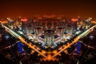 Beijing Panorama In China