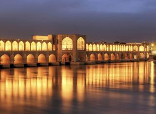Khaju Bridge - Iran para Widescreen Desktop PC 1920x1080 Full HD