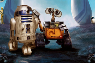Cute Wall-E para 220x176