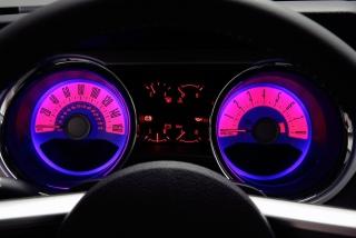 Retro Neon Speedometer