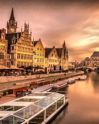 Embankment in Netherlands City para Huawei G7300