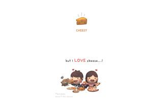 Love Is Cheesy for Nokia Asha 200