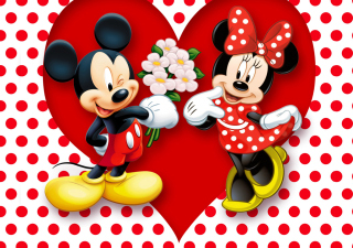 Mickey And Minnie Mouse para Sony Ericsson XPERIA X10 mini pro