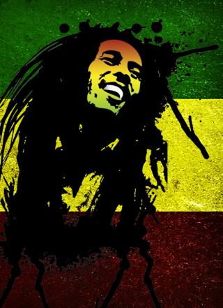 Bob Marley Rasta Reggae Culture para Huawei G7300