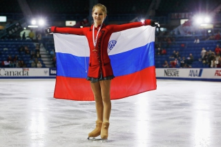2014 Winter Olympics Figure Skater Champion Julia Lipnitskaya