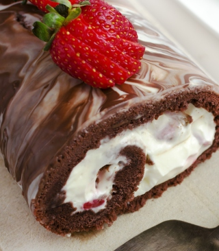 Chocolate Cake With Whipped Cream para LG BL40 New Chocolate