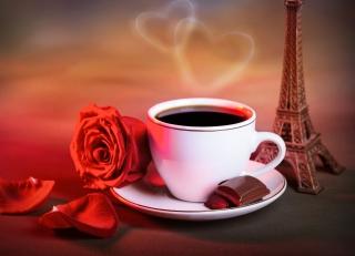 Romantic Coffee for Nokia Asha 200