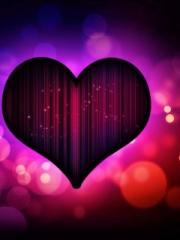 Neon Heart para LG T325 Cookie