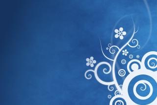 Blue Patterns para Sony Ericsson XPERIA X8