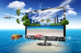 Interactive TV Screen para 220x176