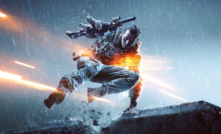 Battlefield 4 Soldier para Samsung S5367 Galaxy Y TV