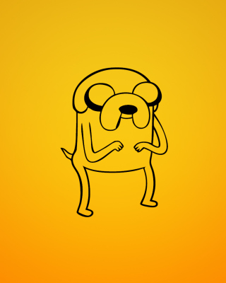 Jake From Adventure Time Illustration para Nokia C2-02