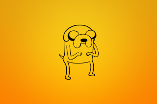 Jake From Adventure Time Illustration para Motorola RAZR XT910