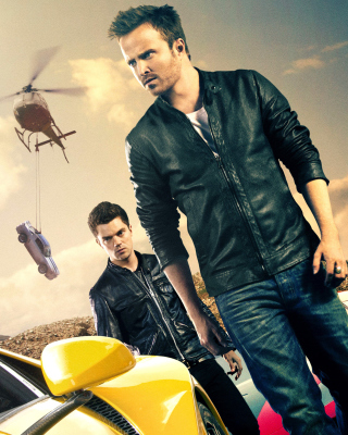 Need for speed Movie 2014 - Aaron Paul per Nokia Asha 306